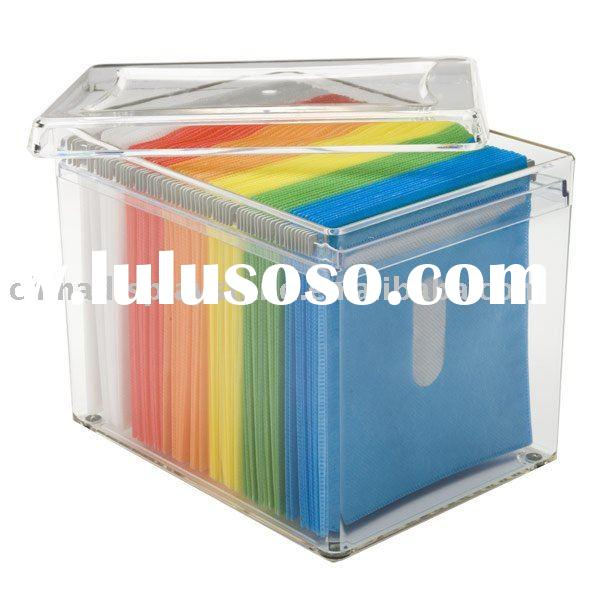 Disc Acrylic Storage Box