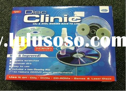 Disc clinic kit CD VCD DVD cleaner cleaning kit