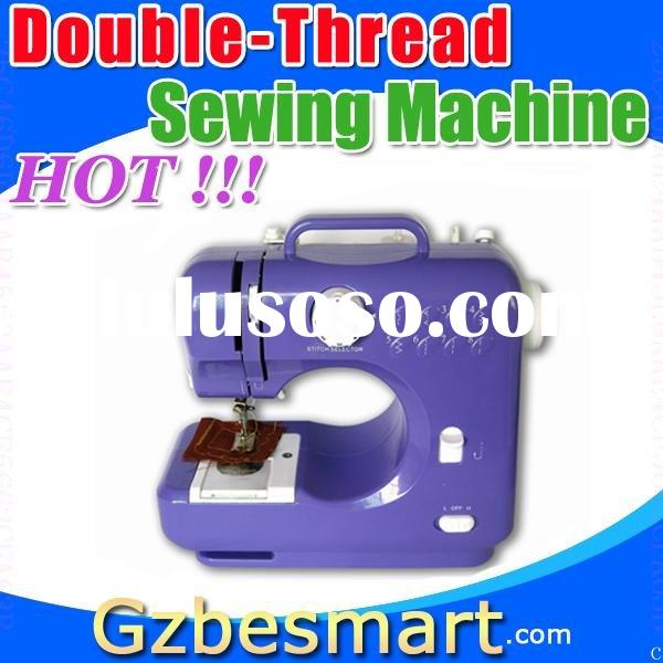 Double-thread mini sewing machine zigzag sewing machine