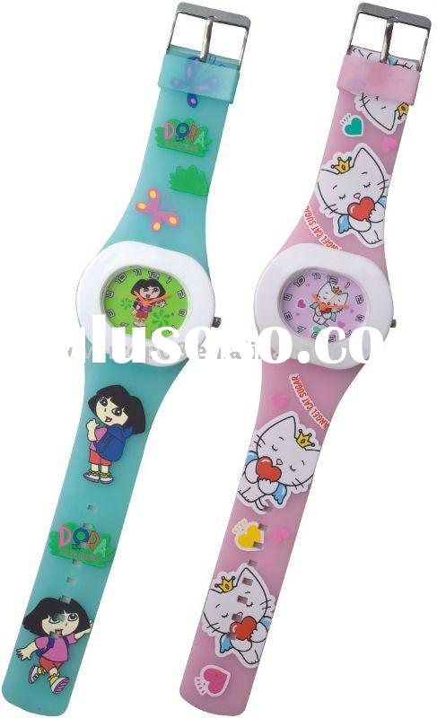 ET1187 Teenage trendy watches 2011 with pvc straps