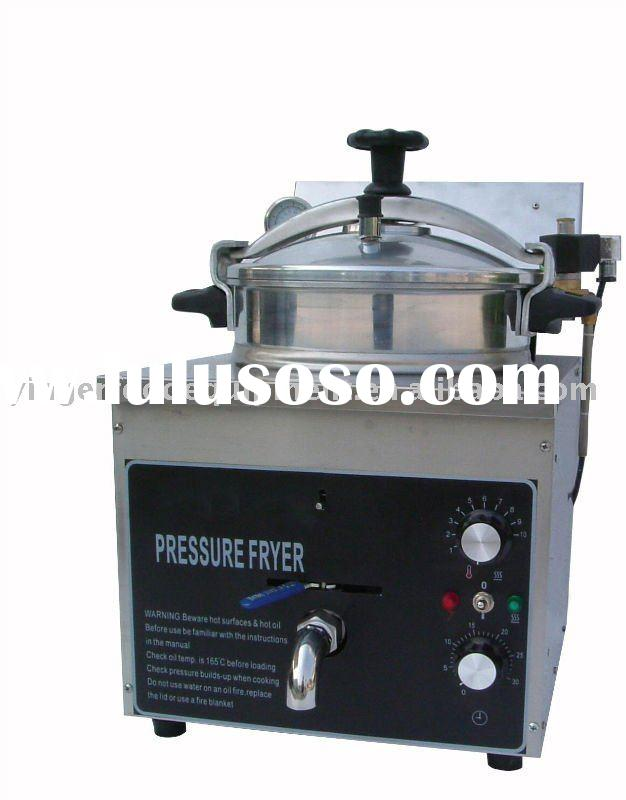Electric Pressure Fryer on Top