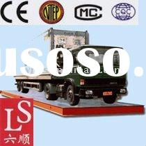Electronic truck scales/weighbridge