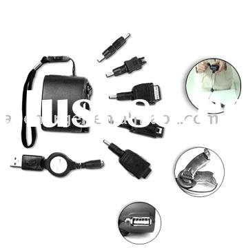 Emergency Wind-up/crank USB charger for mobile phone, promotional gift