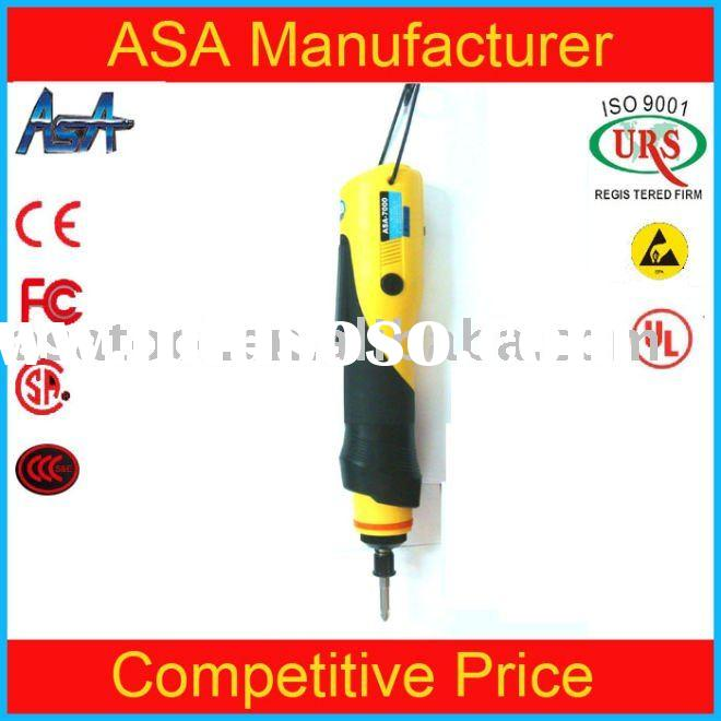 Ergonomic rubber handle stabilized power tool for ASA-7000