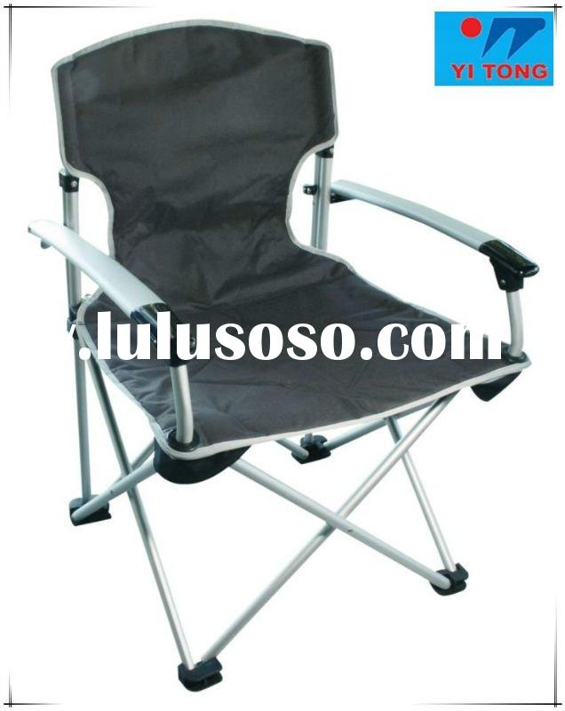 European canvas folding chair ,luxury armrest folding beach chair,Aluminum beach chair,outdoor foldi