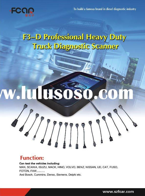 F3-G heavy duty diagnostic scanner for truck & car + free update