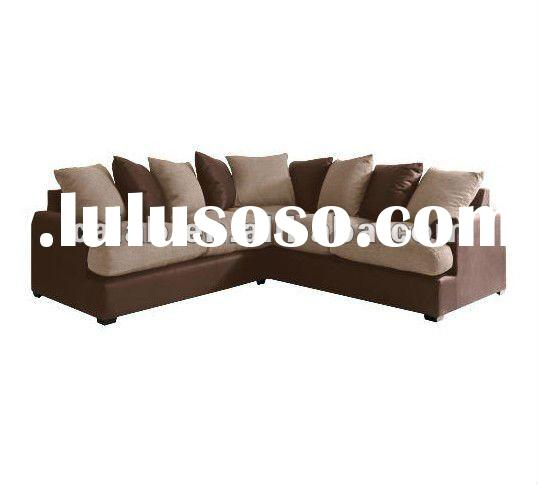 Fabric living room sectional sofa