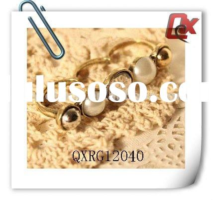 Fashion pearl ring mountings (QXRG12040)