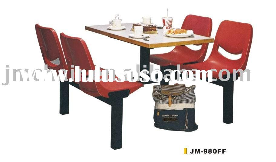 Fast-food Restaurant Dining Table and Seating JM-980FF