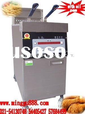 Fish and chips fryers with Oil Pump (CE Approval,Manufacturer )