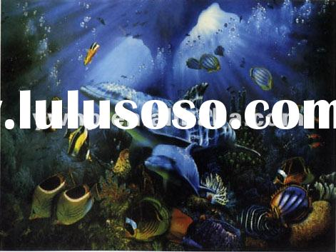 Fish painting,canvas painting,marine life