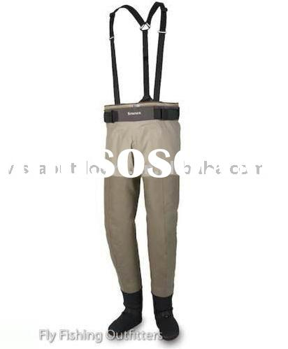Breathable fly fishing wader pants boots for sale price for Fishing waders on sale
