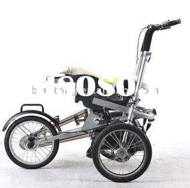 Folding baby bike stroller folding bicycle bicycles