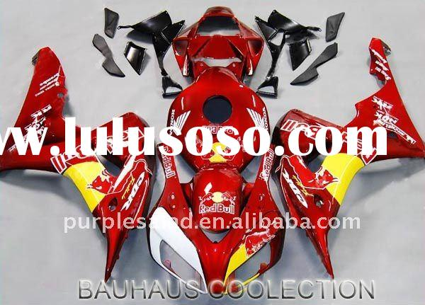 For Honda CBR 1000RR 06-07 ABS Fairing Candy Red + Japan Original Mould + Heat-Shield Technology