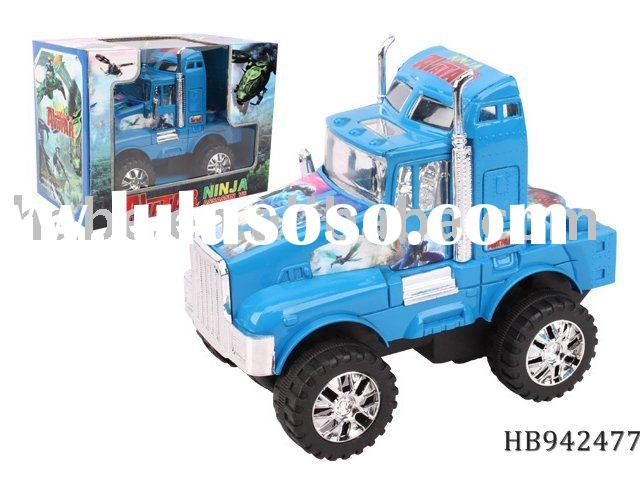 Friction tractor trailer truck,plastic toys,friction toys,truck