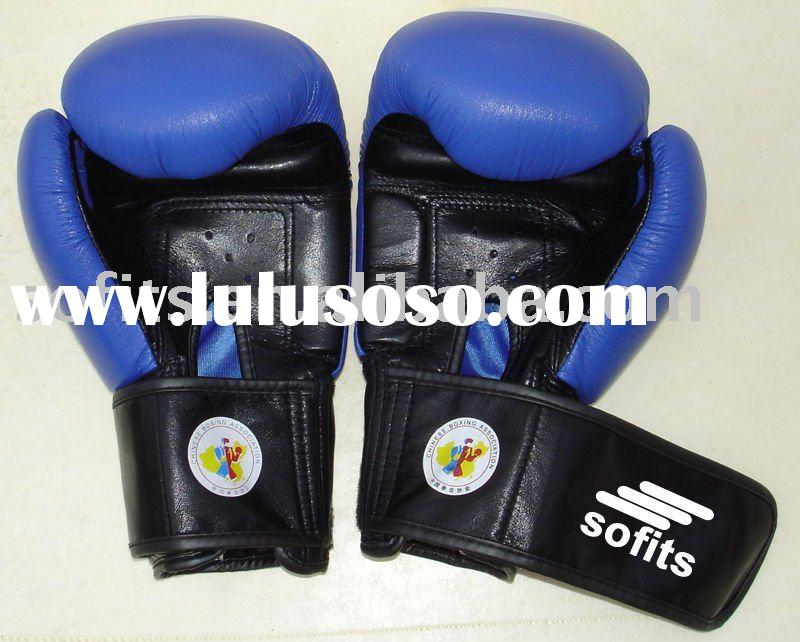 Game Style Leather Boxing Gloves