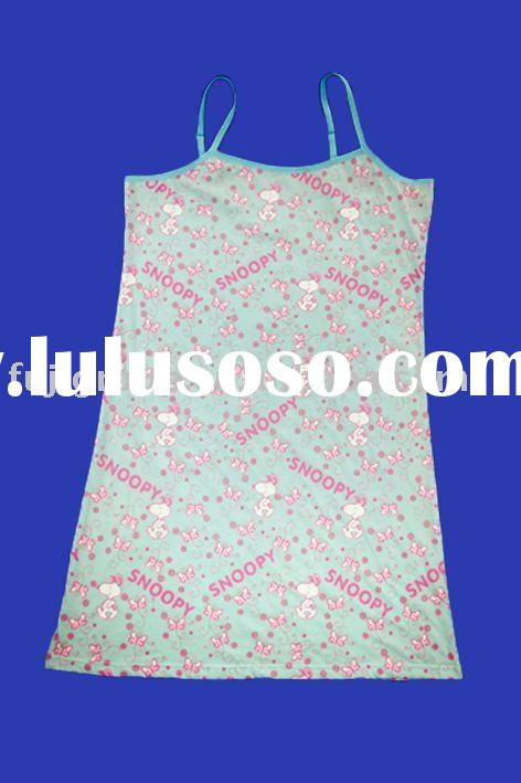 Girl's Cotton Nightgown