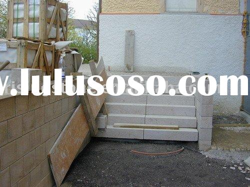 Gold Rust Step ( Natural stone inc, Precast)