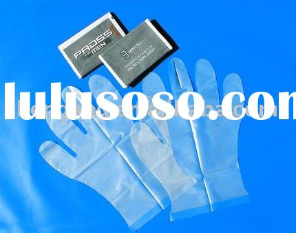 Good quality sterile hair dressing glove