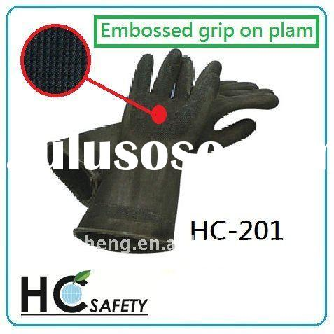 HC-202 rubber gloves, safety gloves, working gloves, protective gloves, hand protection