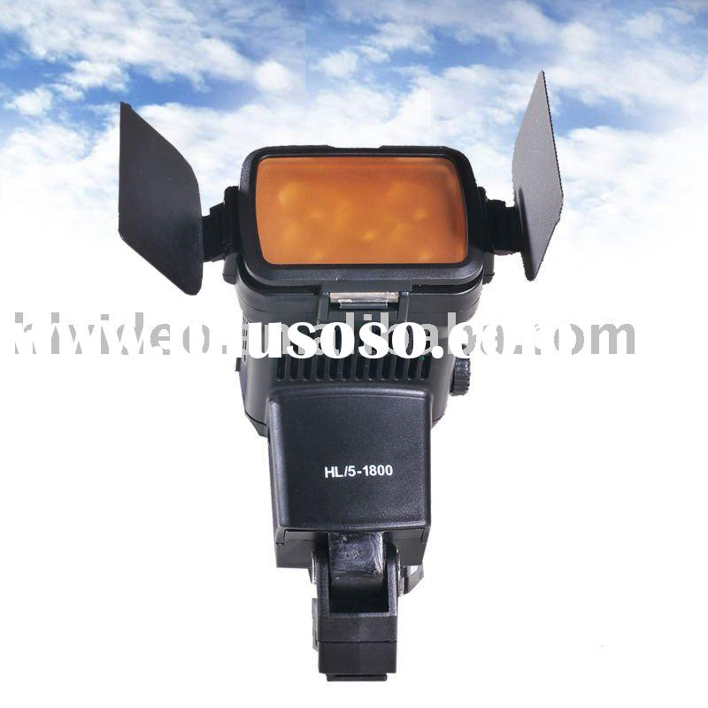 HL-5/1800 LED camera light with CE&RoSH approval