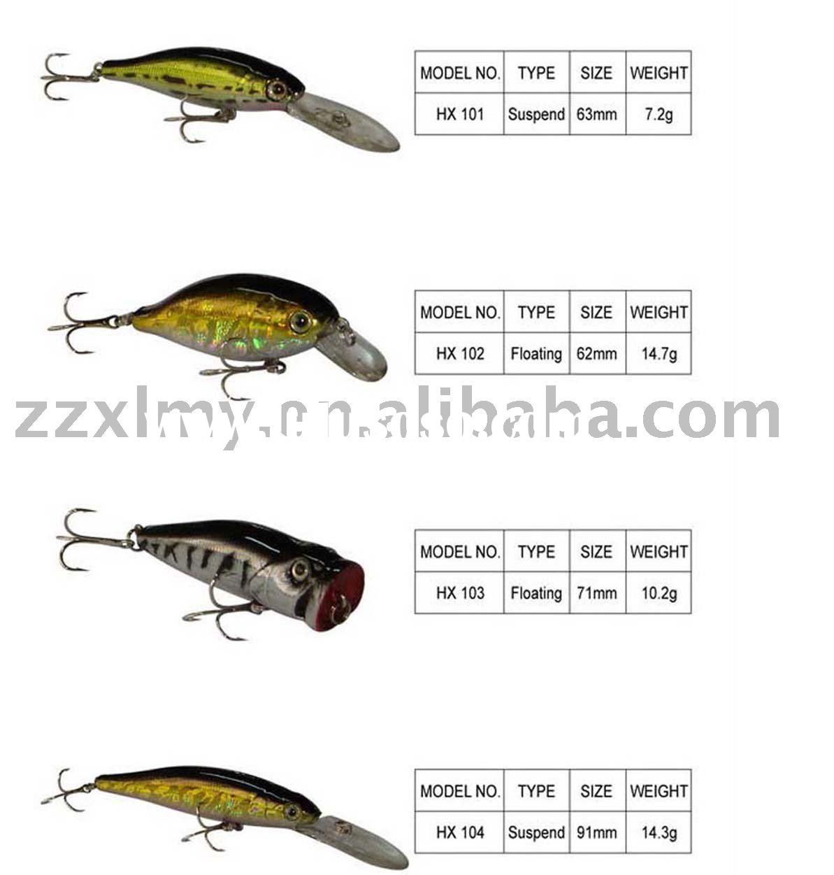 Hard Fishing Lure