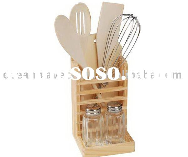 High quality wood kitchen tool set,wood products