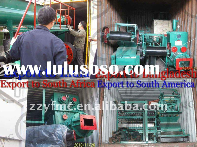 Hot sale!!!Full Clay as raw material brick making process,clay brick making machine