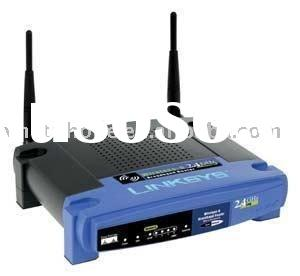 Hot sale!! cheap but powerful linksys brand wireless router WRT54GS