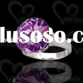 Hot sell antique handmade 925 sterling silver cz ring