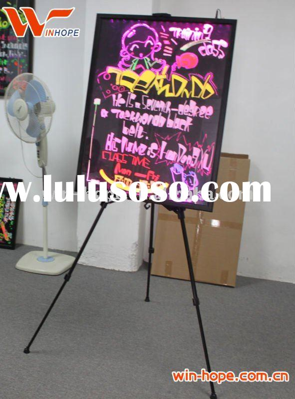 Hot selling WH1 DIY 25cm*35cm*2.6cm fluorescent markers for led writing board