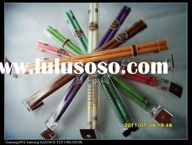 Indian ear candle, Straight D, with a plug, massage, super quality , competitive price,8 kinds of co