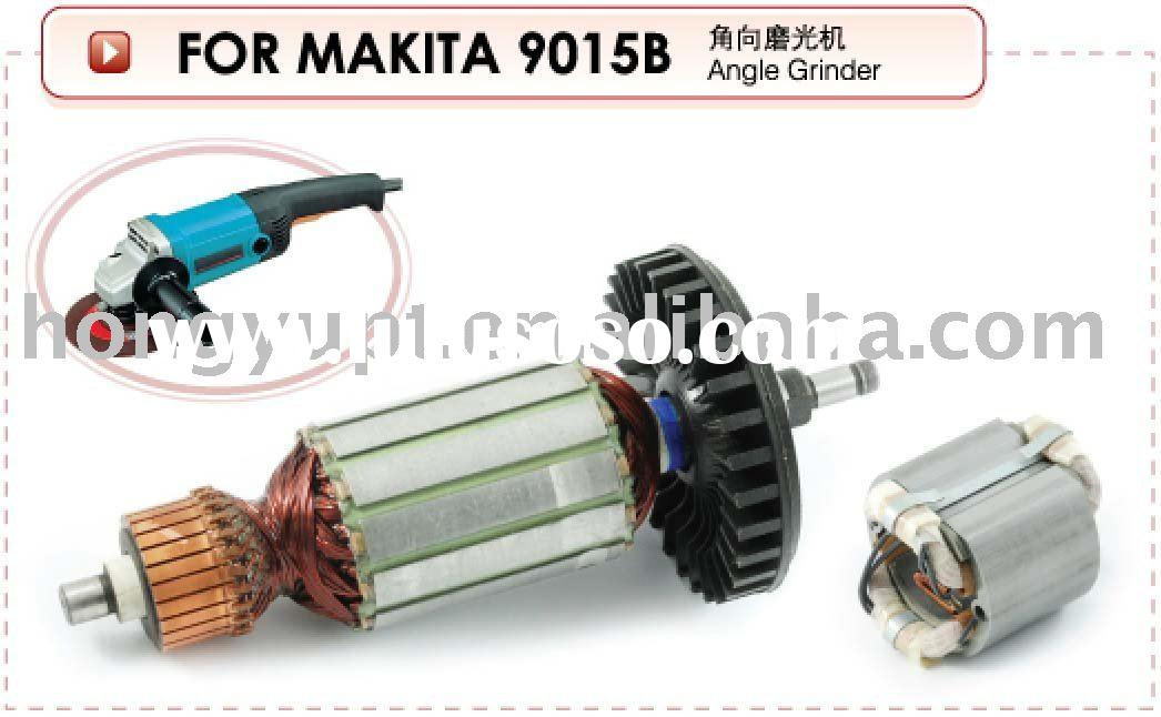 Industrial electric tools sets spares power tools spares armature rotor stator starter gear Alternat