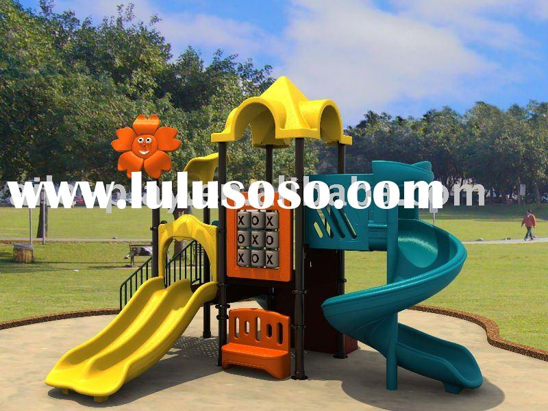 Kids Outdoor Plastic Playground (UFO series products QTL-NP19601)