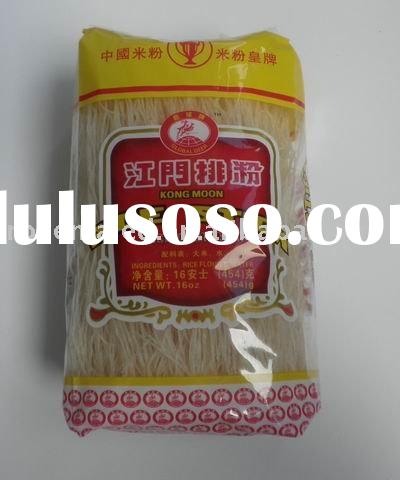 Kong Moon rice stick or dried rice vermicelli or rice vermicelli stick