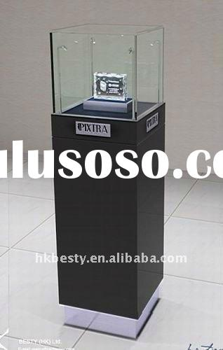 LED watch tower display showcase for retail shop furniture