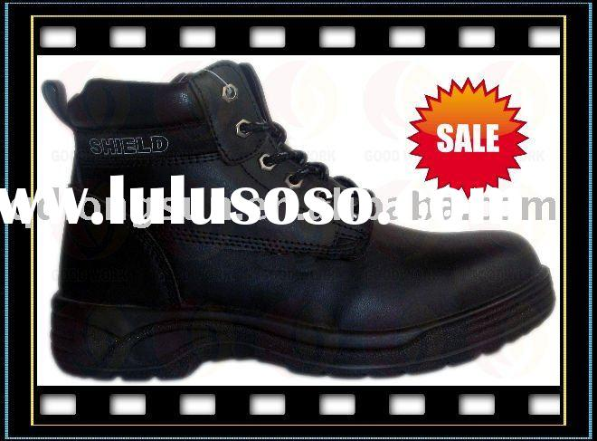 LS060 leather safety shoes/industrial safety shoes/work footware