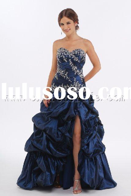 LY-6030 dark blue prom evening dresses, gown dress,fashiion designer evening dresses in various colo
