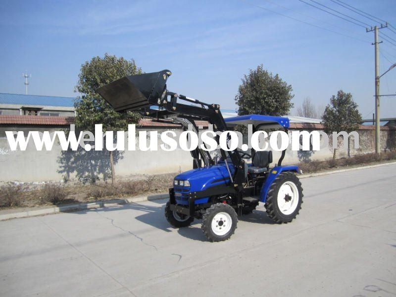LZ304,30HP, 4WD mini tractors fit with 4in1 front end loader, backhoe