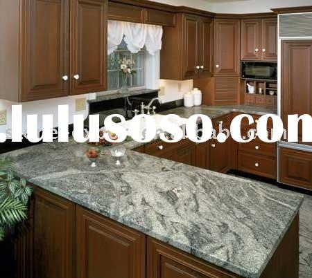 L shape kitchen countertops granite,stone kitchen countertop,prefabricated countertops with wooden c