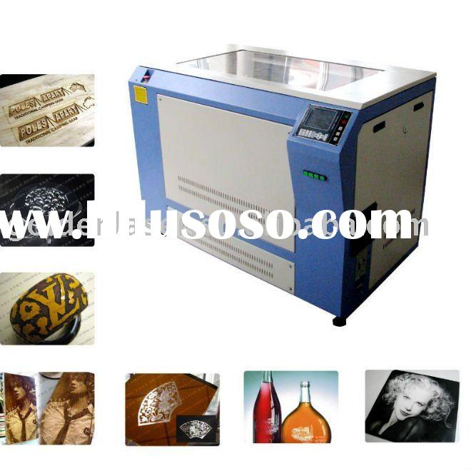 Laminated two color plastic laser engraving machine