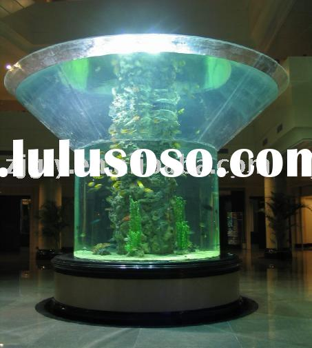 Large Acrylic Fish Tank for Aquariums Hotels and Offices