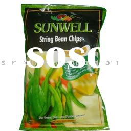 Low Temperature Vacuum Fried String Bean chips ( Healthy Snack)