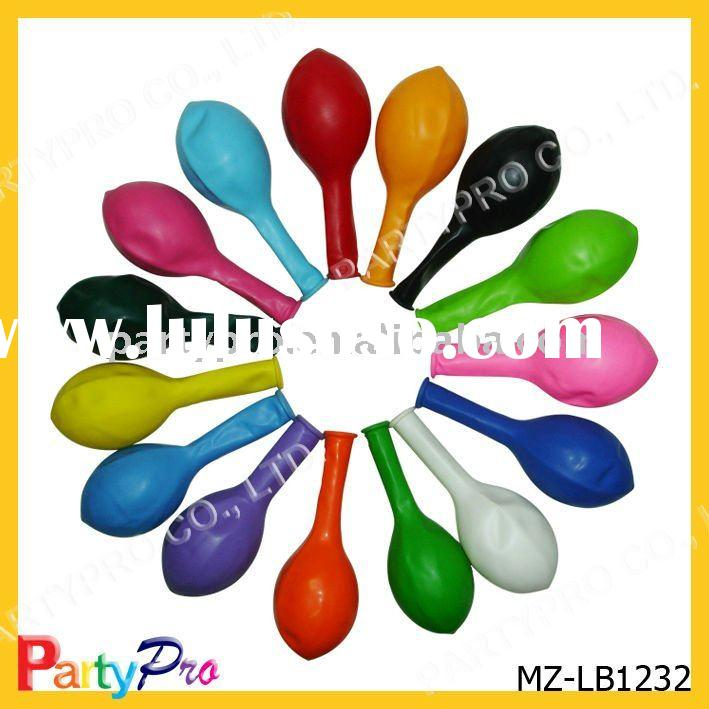 MZ-LB1232 high quality 12 inch colorful non-toxic party latex balloons