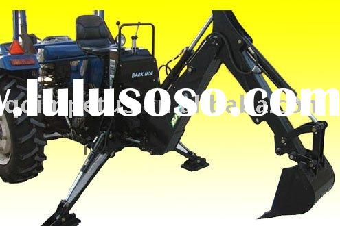 Mini backhoe for tractor