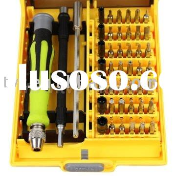 Mobile Repair Tools 45 in 1 Precision Screwdriver Tools Set for RC PC Mobile Car(8913)