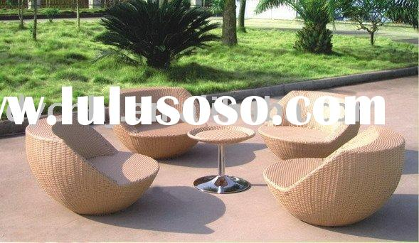 Modern rattan wicker egg chair for outdoor DY2069