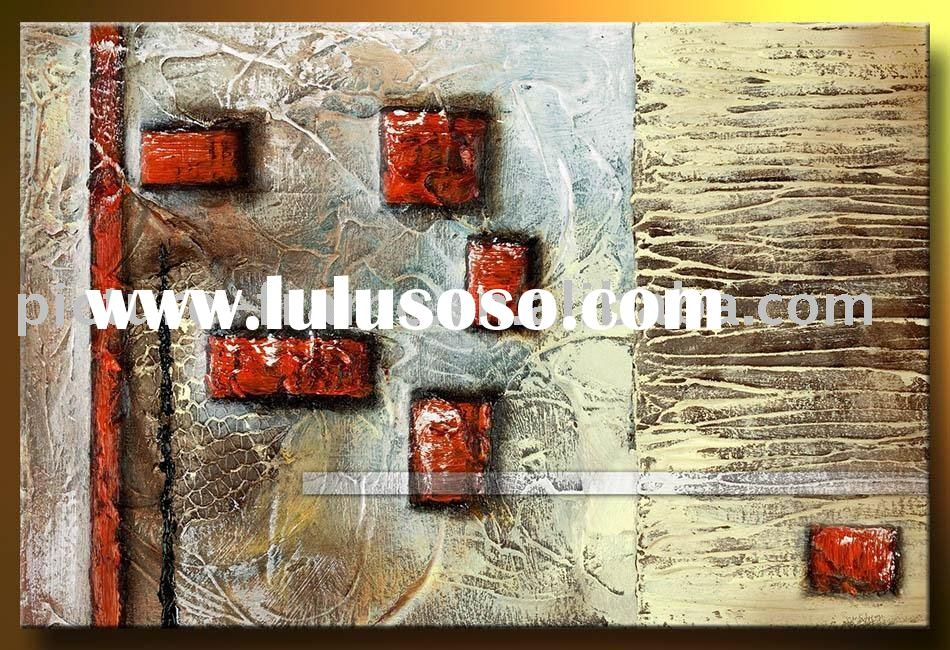 New canvas modern art paintings,100%hand art painting