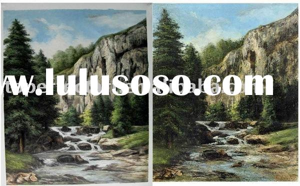 New picture Landscape art painting on canvas,1land005