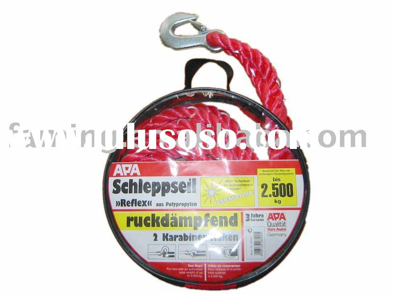 Nylon car towing rope Red Colour